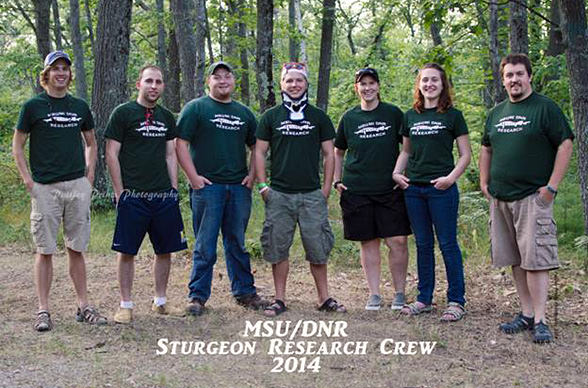 2014 MSU/DNR Research Crew