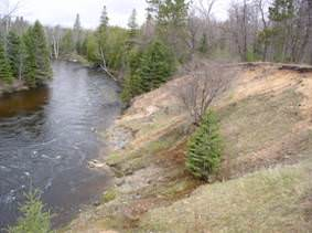 Streambank on Black River in 2006